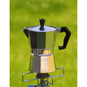 Basic Nature Bellanapoli Espresso Maker 3 Cups, alu natur